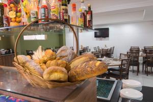 Monte Serrat Hotel, Hotel  Santos - big - 61