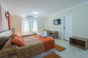 Monte Serrat Hotel, Hotel  Santos - big - 16