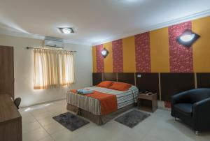 Monte Serrat Hotel, Hotel  Santos - big - 63