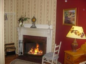 Queen or King Room with Fireplace
