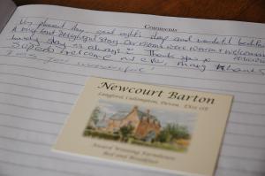 Newcourt Barton, Bed & Breakfasts  Cullompton - big - 29