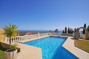 Villa Sirenas, Vily  Calpe - big - 10