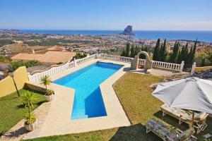 Villa Sirenas, Vily  Calpe - big - 1
