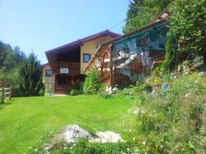 Cabana Suprema Armonie, Chaty v prírode  Dîmbovicioara - big - 26