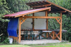 Cabana Suprema Armonie, Lodge  Dîmbovicioara - big - 29