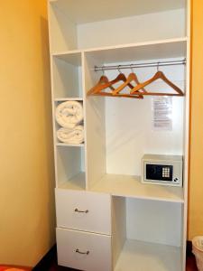 Двухместный номер с 1 кроватью и ванной комнатой вне номера