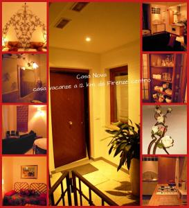 Casa Nova Casa Vacanze, Апартаменты  Понтассьеве - big - 8