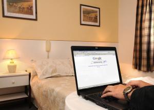Hotel Salerno, Отели  Вилья-Карлос-Пас - big - 6