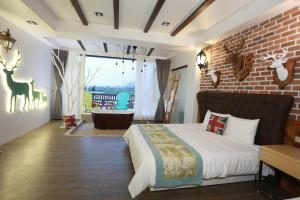 Follow Me designed B&B, Alloggi in famiglia  Dongshan - big - 75