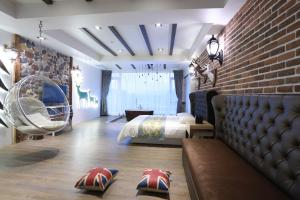 Follow Me designed B&B, Alloggi in famiglia  Dongshan - big - 12