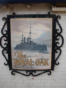 The Royal Oak, Penziony – hostince  Weymouth - big - 71