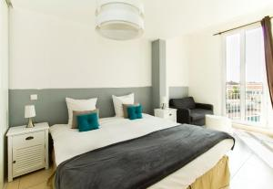 Florella République Apartment, Apartmány  Cannes - big - 28