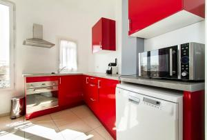 Florella République Apartment, Apartmány  Cannes - big - 24