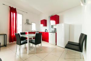 Florella République Apartment, Apartmány  Cannes - big - 8