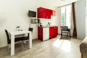 Florella République Apartment, Apartmány  Cannes - big - 25