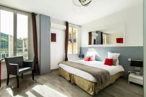 Florella République Apartment, Apartmány  Cannes - big - 37