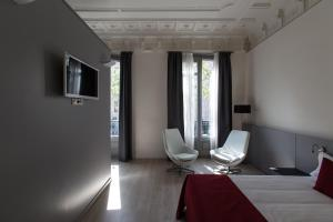 Double or Twin Room with Balcony and City View