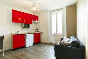 Florella République Apartment, Apartmány  Cannes - big - 31