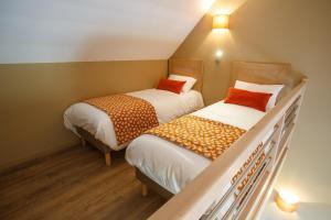 Zweibettzimmer mit Terrasse