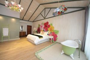 Follow Me designed B&B, Alloggi in famiglia  Dongshan - big - 2