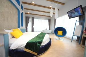 Follow Me designed B&B, Alloggi in famiglia  Dongshan - big - 76