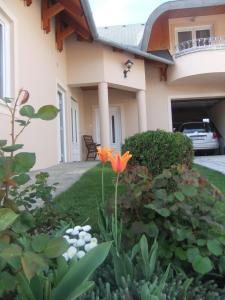Castelinho Apartmanház, Apartments  Gyenesdiás - big - 12