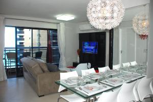 Luxury Flat Beira Mar, Apartmány  Fortaleza - big - 4