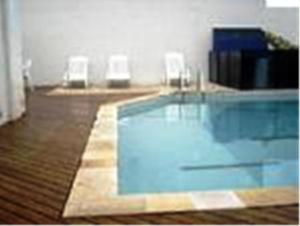 Flat Guarujá Capitania Varam, Appartamenti  Guarujá - big - 10