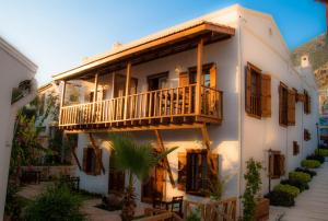Courtyard, Hotels  Kalkan - big - 48