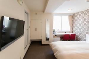Frame Hotel Sapporo, Hotel low cost  Sapporo - big - 23
