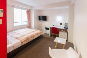 Frame Hotel Sapporo, Hotel low cost  Sapporo - big - 9