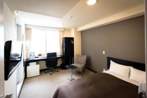 Frame Hotel Sapporo, Hotel low cost  Sapporo - big - 37