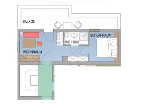Appartement Scheibling, Appartamenti  St. Wolfgang - big - 16
