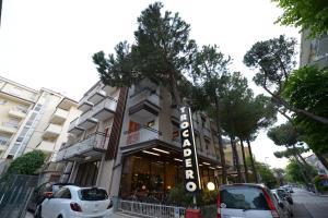 Hotel Trocadero, Отели  Риччоне - big - 42