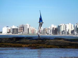 Blue Marlin Apartment, Apartmány  Guarapari - big - 9
