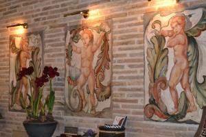 Hotel Condes de Visconti, Hotel  Tarazona de Aragón - big - 29