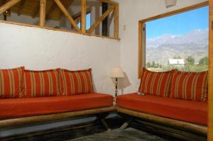 Las Espuelas Casas de Montaña, Chaty v prírode  Potrerillos - big - 4