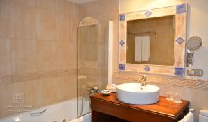 Hotel Condes de Visconti, Hotel  Tarazona de Aragón - big - 16