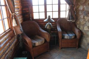 King or Twin Log Cabin