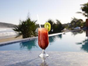 Chez Pitu Praia Hotel, Отели  Бузиус - big - 65