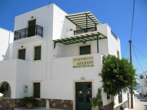 Aegeon Hotel, Hotels  Naxos Chora - big - 22