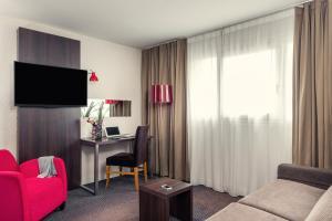 Junior Suite met 1 Tweepersoonsbed en een Slaapbank