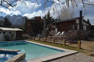 Cabañas Rio Mendoza, Lodge  Cacheuta - big - 23
