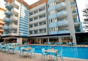 Kleopatra Ramira Hotel - All Inclusive, Отели  Алания - big - 48