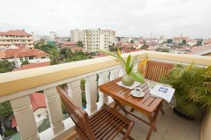 Grand Residence, Ferienwohnungen  Phnom Penh - big - 8
