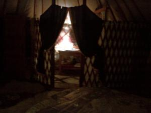 Almond Grove Yurt Hotel, Zelt-Lodges  Ábrahámhegy - big - 39