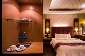 Rose Business Hotel, Motely  Yilan City - big - 7