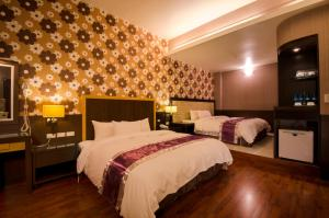 Rose Business Hotel, Motely  Yilan City - big - 8