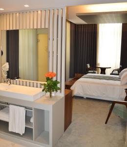 Hotel do Parque, Отели  Брага - big - 11