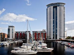 Marina Apartment, Apartmány  Swansea - big - 1